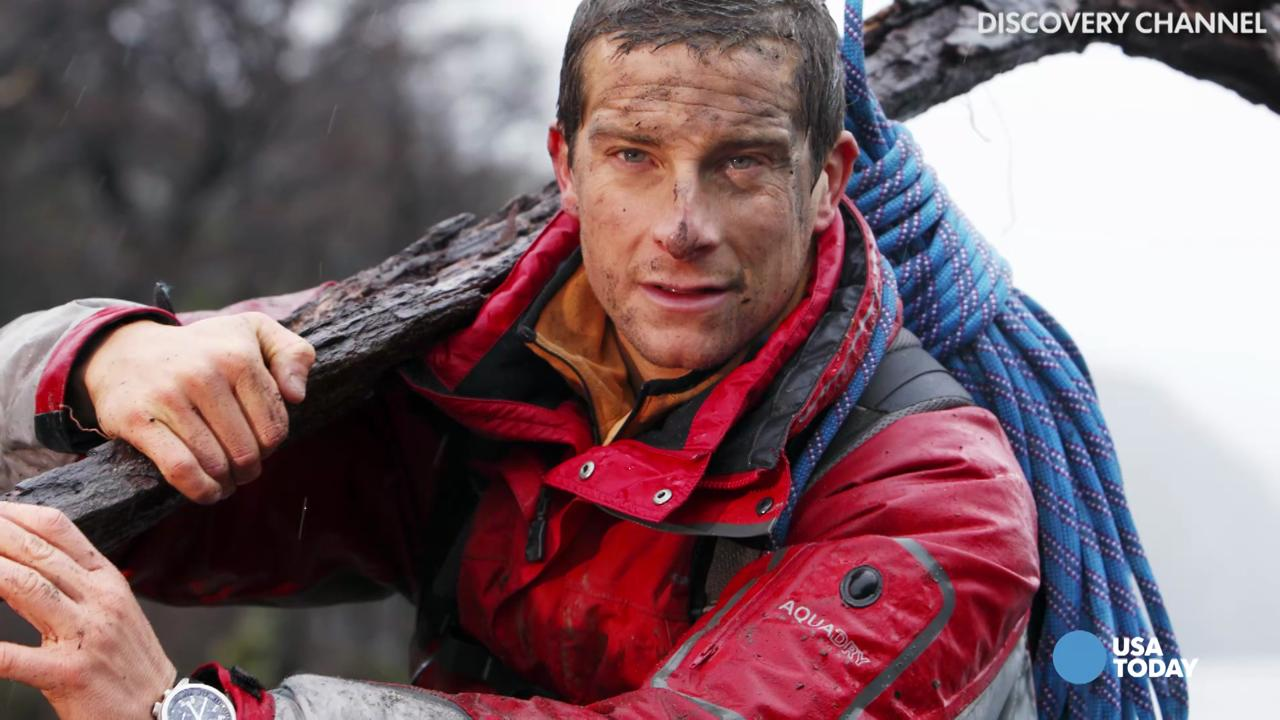 5 things Bear Grylls will eat, but Obama probably won't