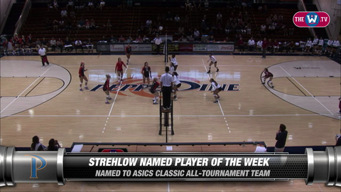 Video | Volleyball Player of the Week | August 31, 2015