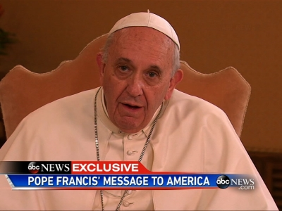 Pope brings Chicago girl to tears when he asks her to do this