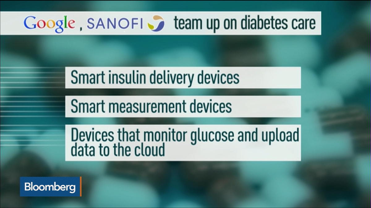 Google teams up with Sanofi on diabetes care