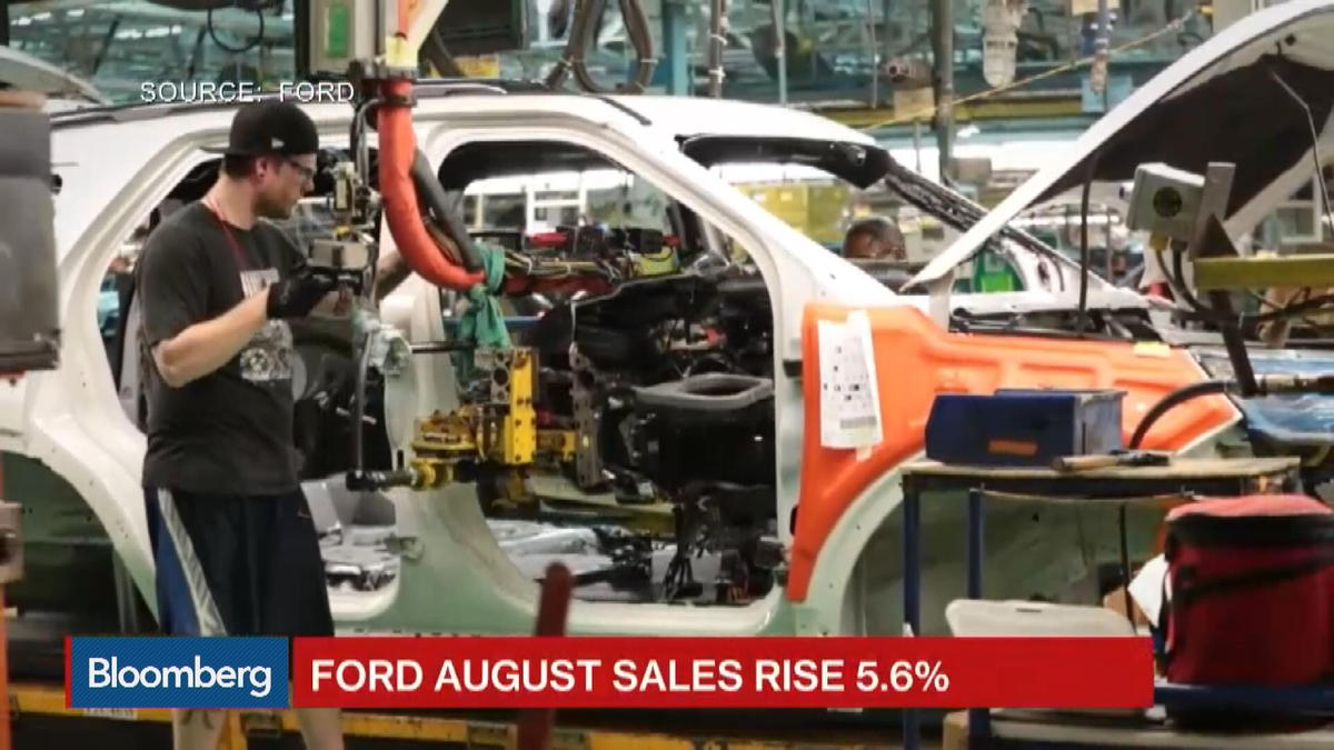 Ford F-150 powers August auto sales surge of 5.6%