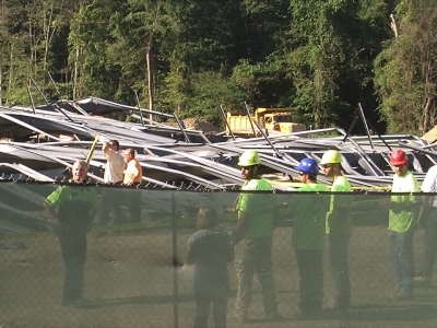 Construction Site at R.I. University Collapses