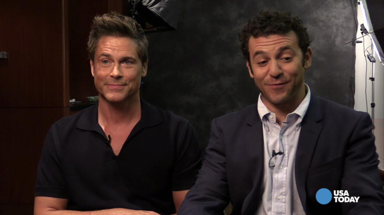 'Grinder' stars talk legal jargon