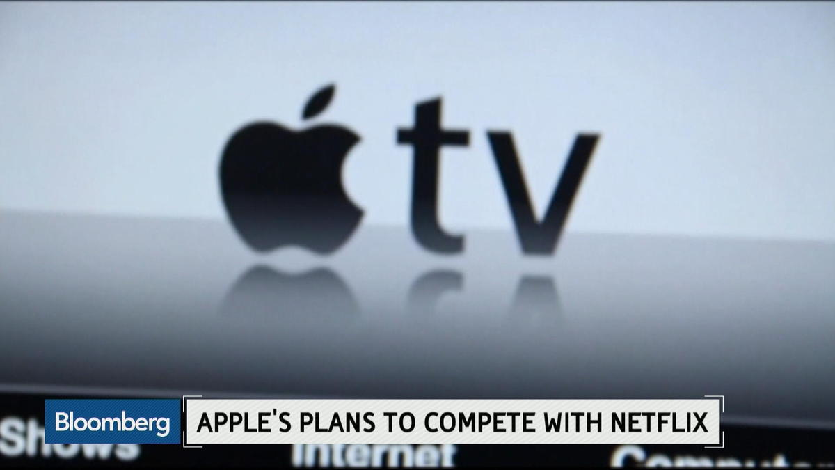 Apple's plans to compete with Netflix
