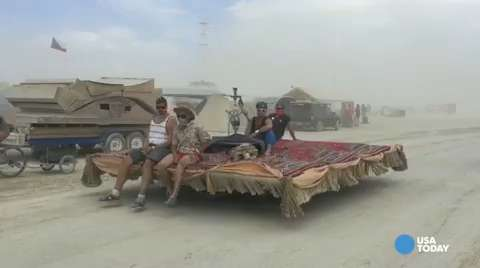 Burning Man: A feast for the eyes