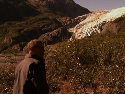 Obama Stares Down Melting Alaska Glacier