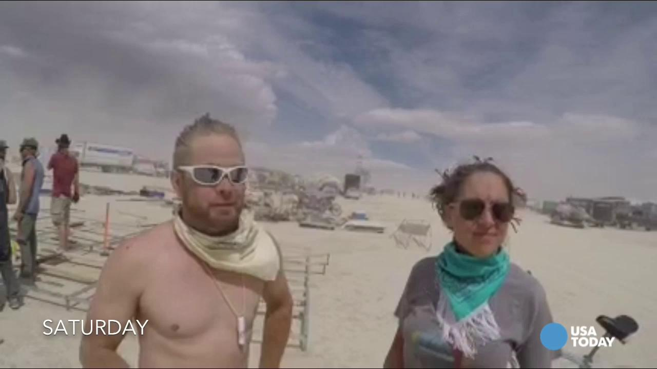 Burning Man: Wednesday Dust Advisory