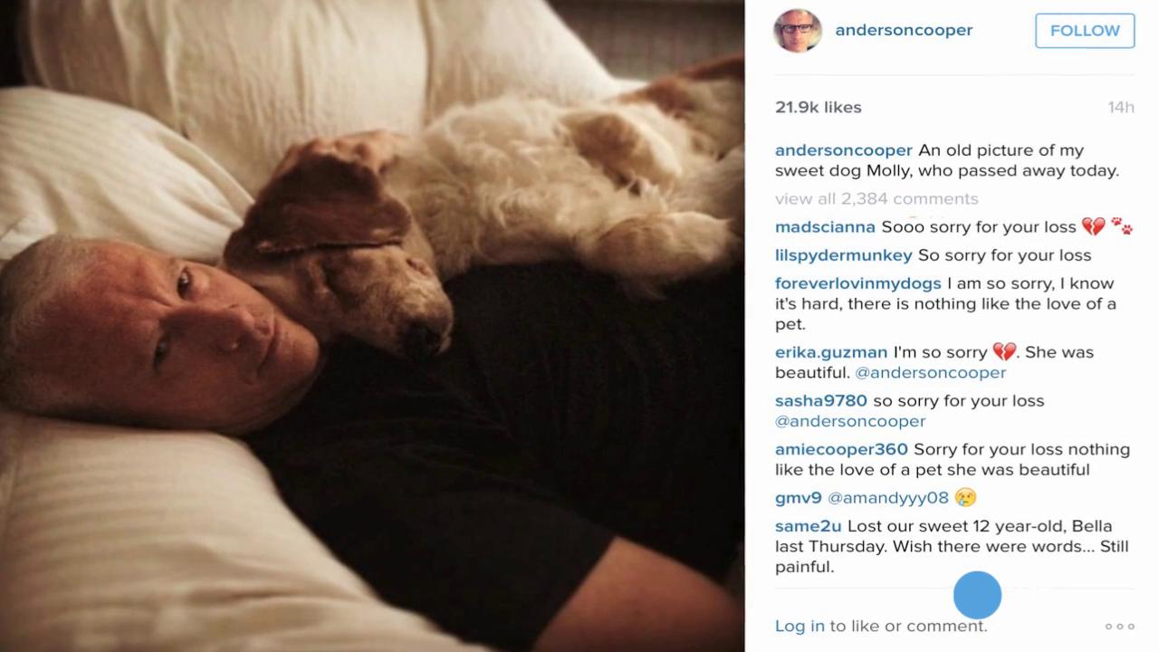 Anderson Cooper loses his best friend