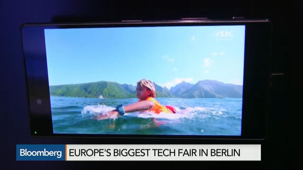 4K smartphone Is hottest gadget at European Tech Fair