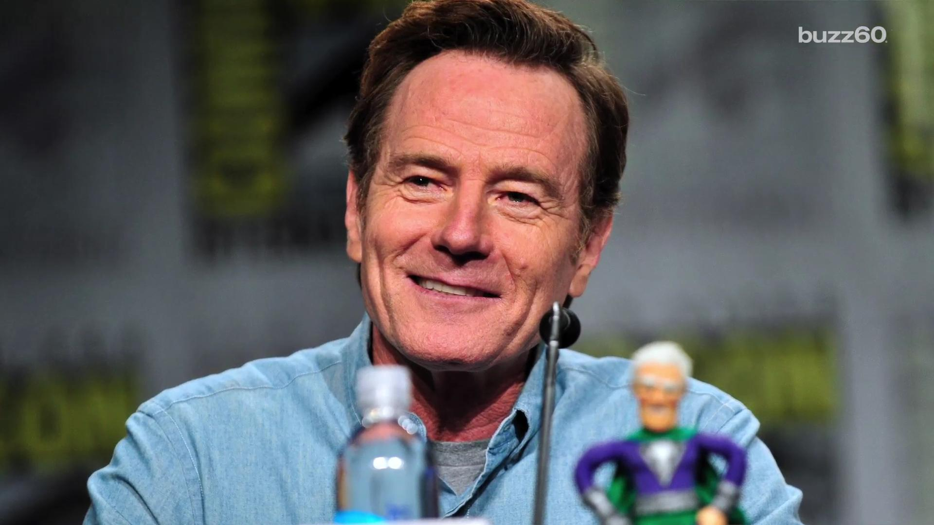 Bryan Cranston says being famous is like being pregnant