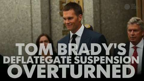 Tom Brady's Deflategate suspension overturned