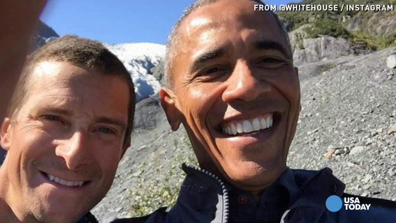 Obama gets social in Alaska, takes over WH Instagram