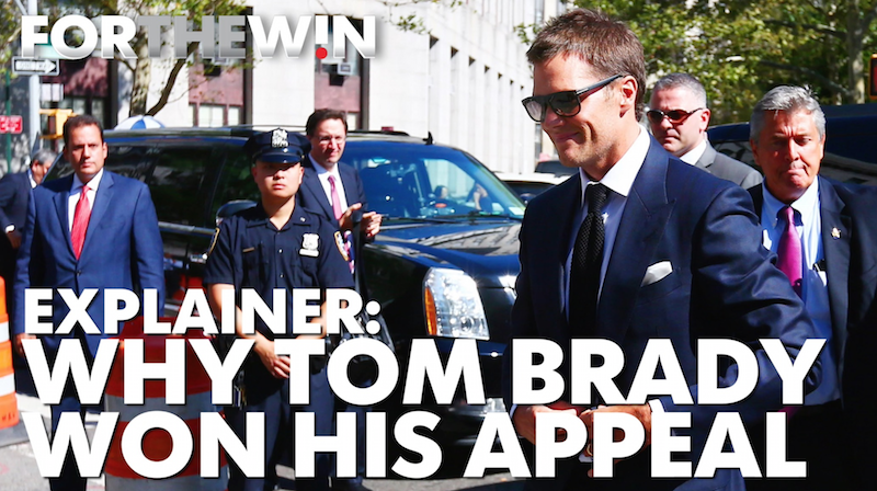 Why the Deflategate judge overturned Tom Brady's suspension