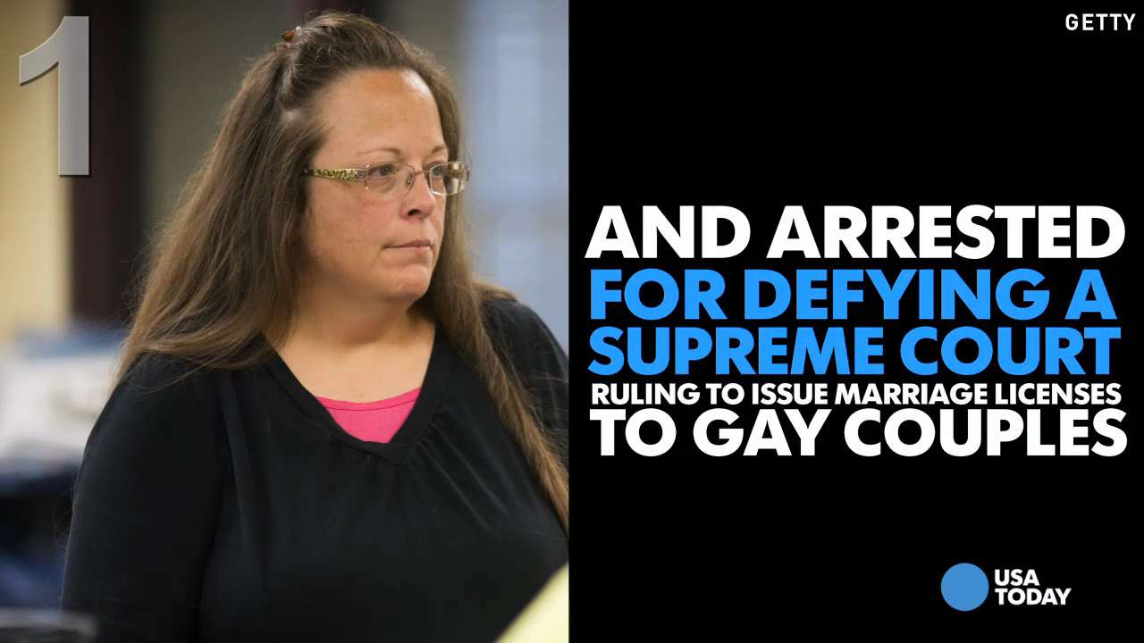 5 things to know about KY clerk Kim Davis' case