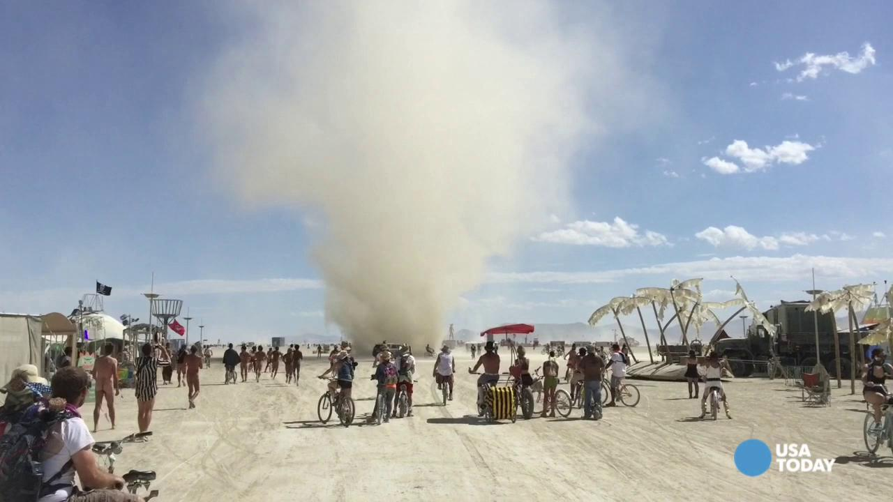 Burning Man: Thursday Dust Devil