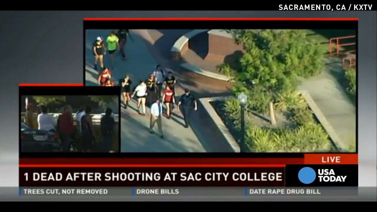 At least 1 dead after shooting at Sacramento college