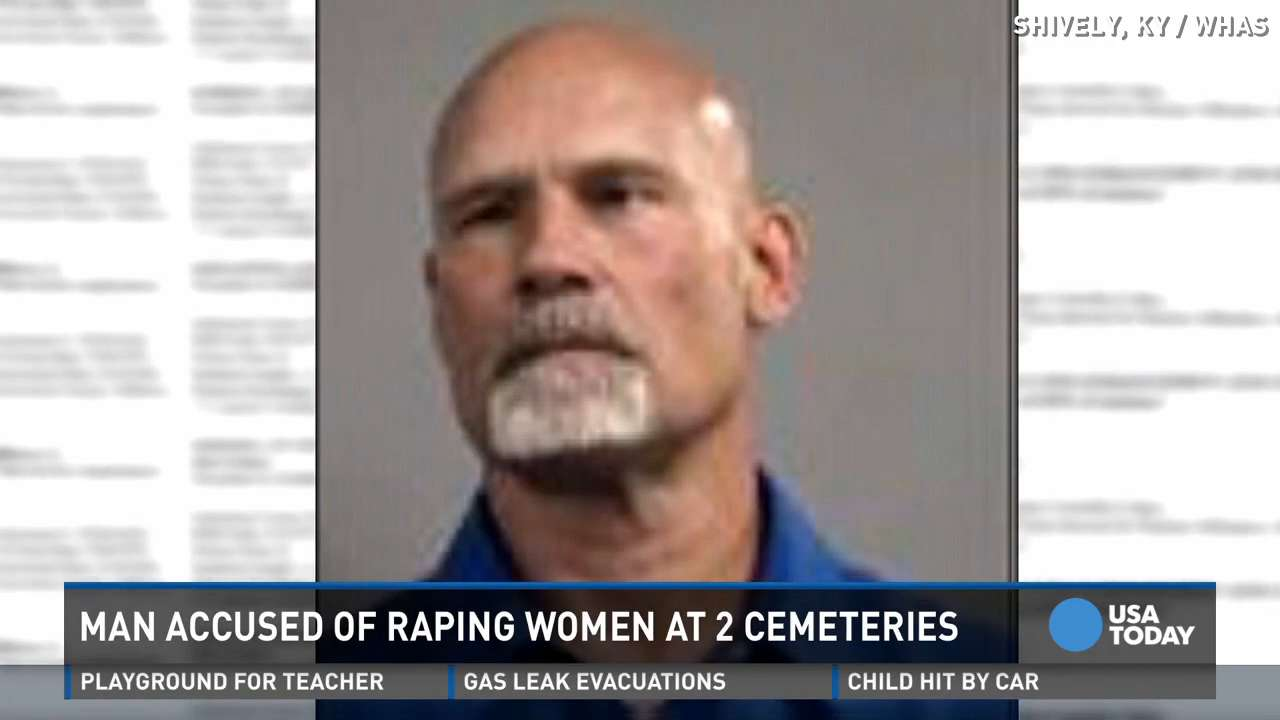 Police: Man picked up women, raped them in cemeteries