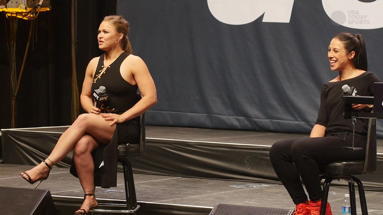 UFC 191 Fan Q&A with Ronda Rousey and Joanna Jedrzejczyk