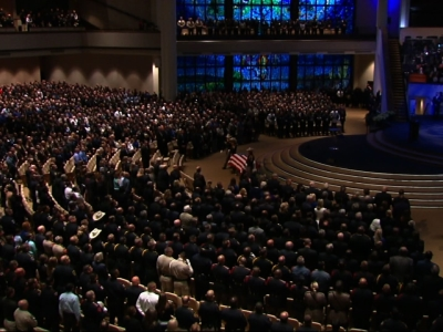 Raw: Thousands Attend Funeral For Slain Deputy