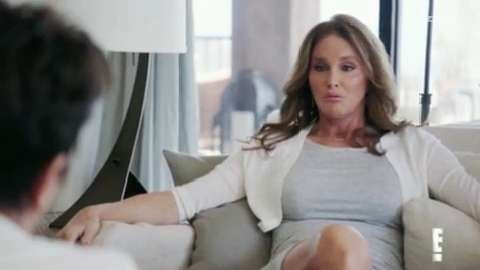 Kris and Caitlyn Jenner's emotional first meeting