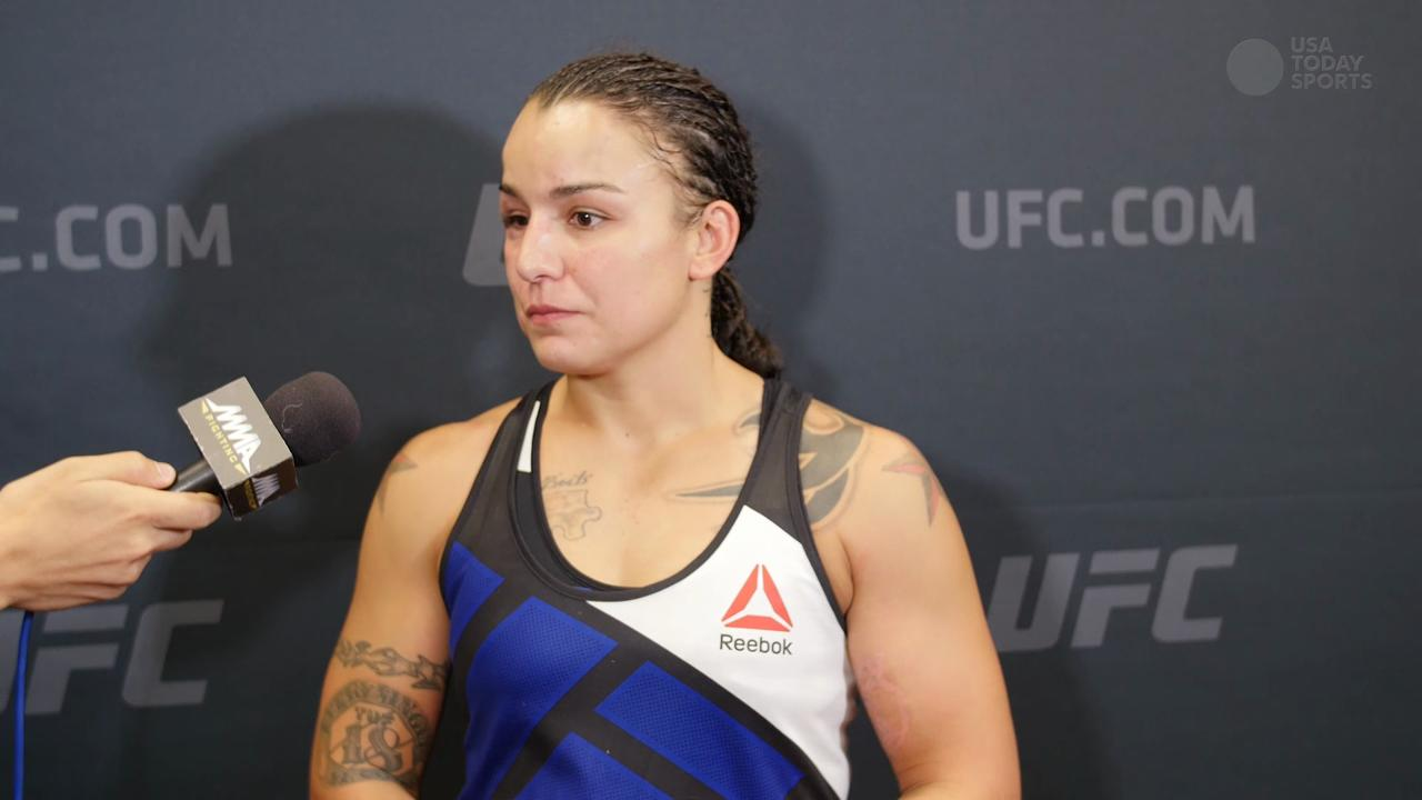 Raquel Pennington took desperate measures to get to UFC 191, earned victory with a massive showing of heart