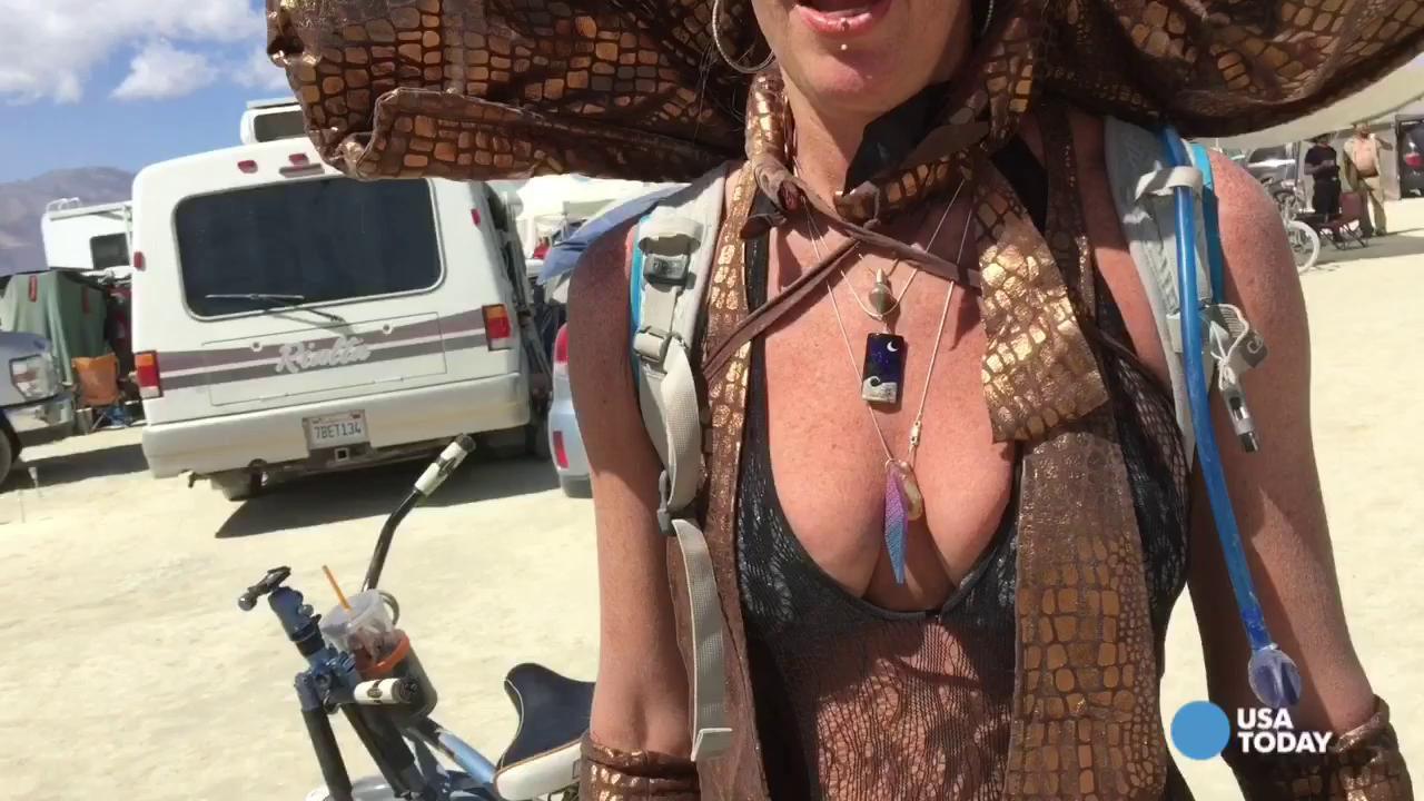 Anything goes for Burning Man costumes