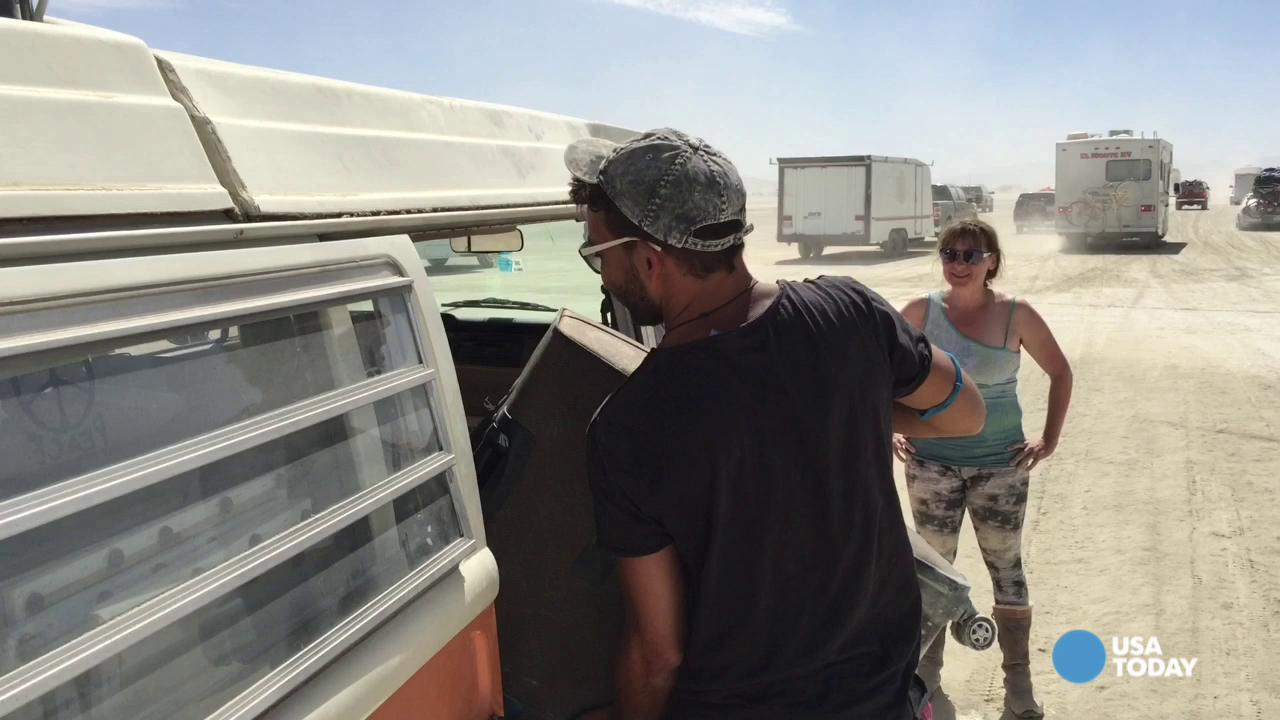 Burning Man: Exodus Underway