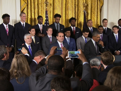 Obama Lauds Duke as NCAA National Champs
