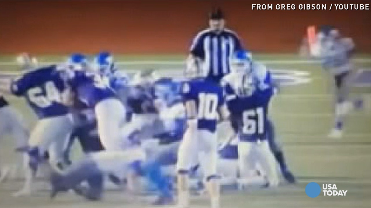 Football players suspended after hitting referee