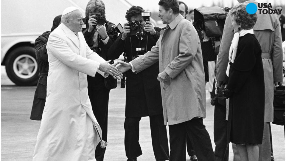 The Pope and Presidents, a history of meetings