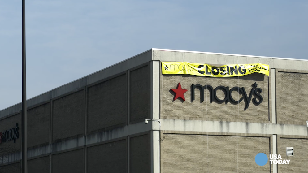 Macy's will close 35 to 40 underperforming stores, around 5% of its total locations in 2017.