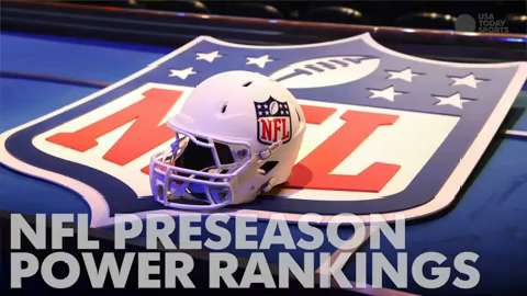 NFL Preseason Power Rankings
