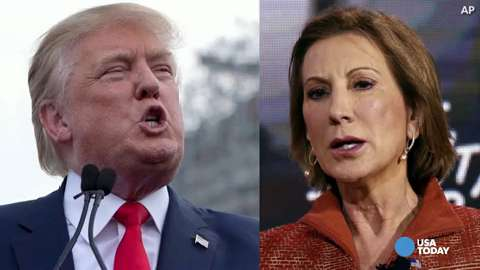 Trump on Fiorina: 'Look at that face!'