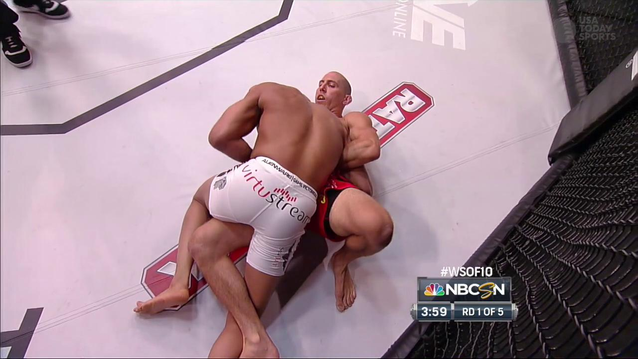 David Branch vs. Jesse Taylor at WSOF 10 - June 21, 2014