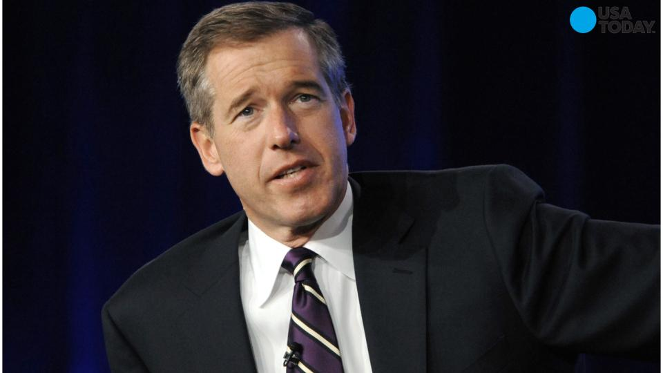 Brian Williams returns to air on MSNBC on Sept. 22 for pope visit