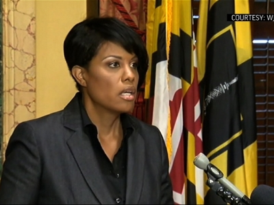 Baltimore mayor will not seek re-election