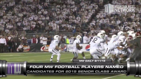 Mountain West Daily 9/11/15