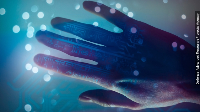 Prosthetic hand gives sense of touch, controlled by brain