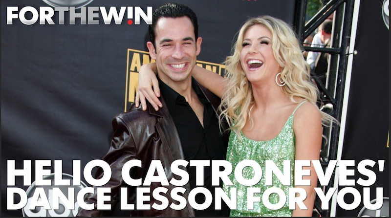 'DWTS' champion Helio Castroneves gives you a dance lesson