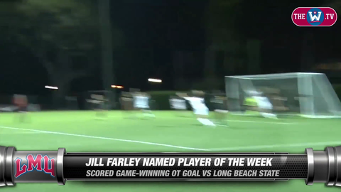 Video | Women's Soccer Player of the Week | September 14, 2015