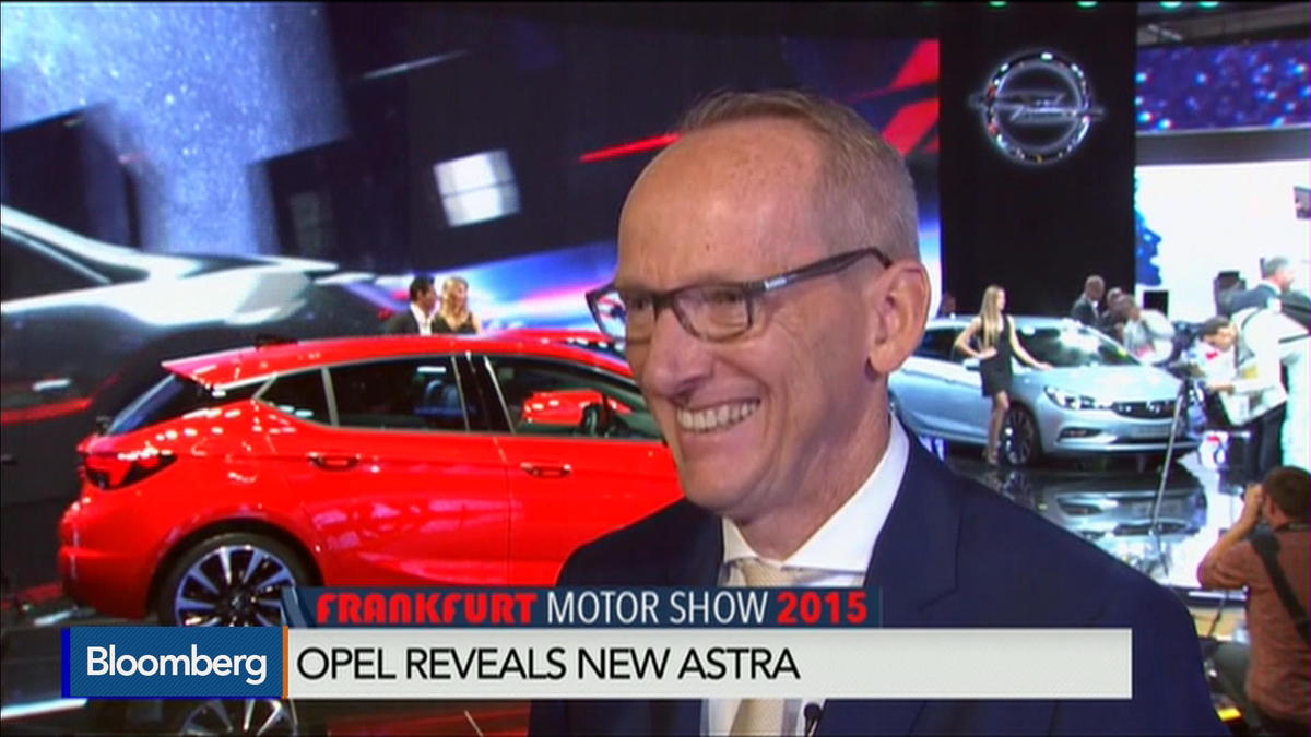 New Opel Astra touted at Frankfurt show