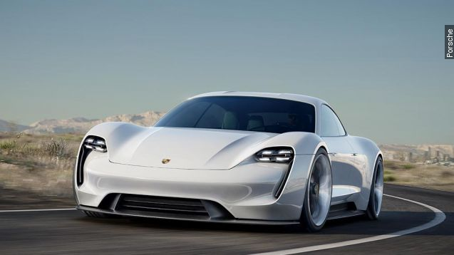 Porsche's new electric concept car could give Tesla trouble