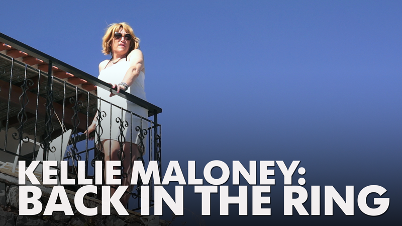 Kellie Maloney, back in the ring