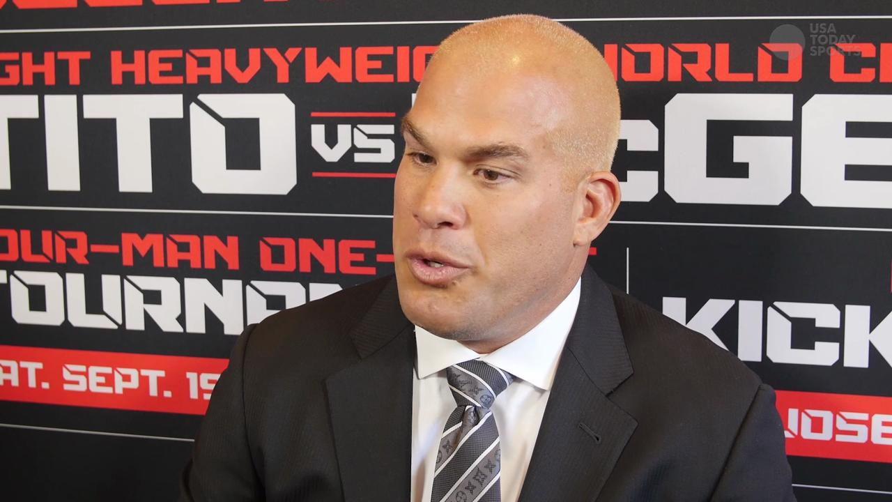 UFC Hall of famer Tito Ortiz ready to prove he still can be a champion on the biggest stage