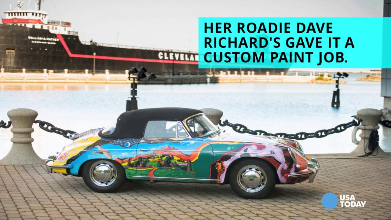 Janis Joplin's psychedelic Porsche to be sold at auction