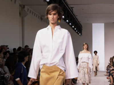 Michael Kors Goes for 'earthy Elegance' at NYFW