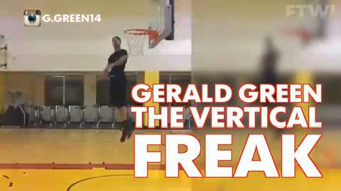 Gerald Green: The vertical freak