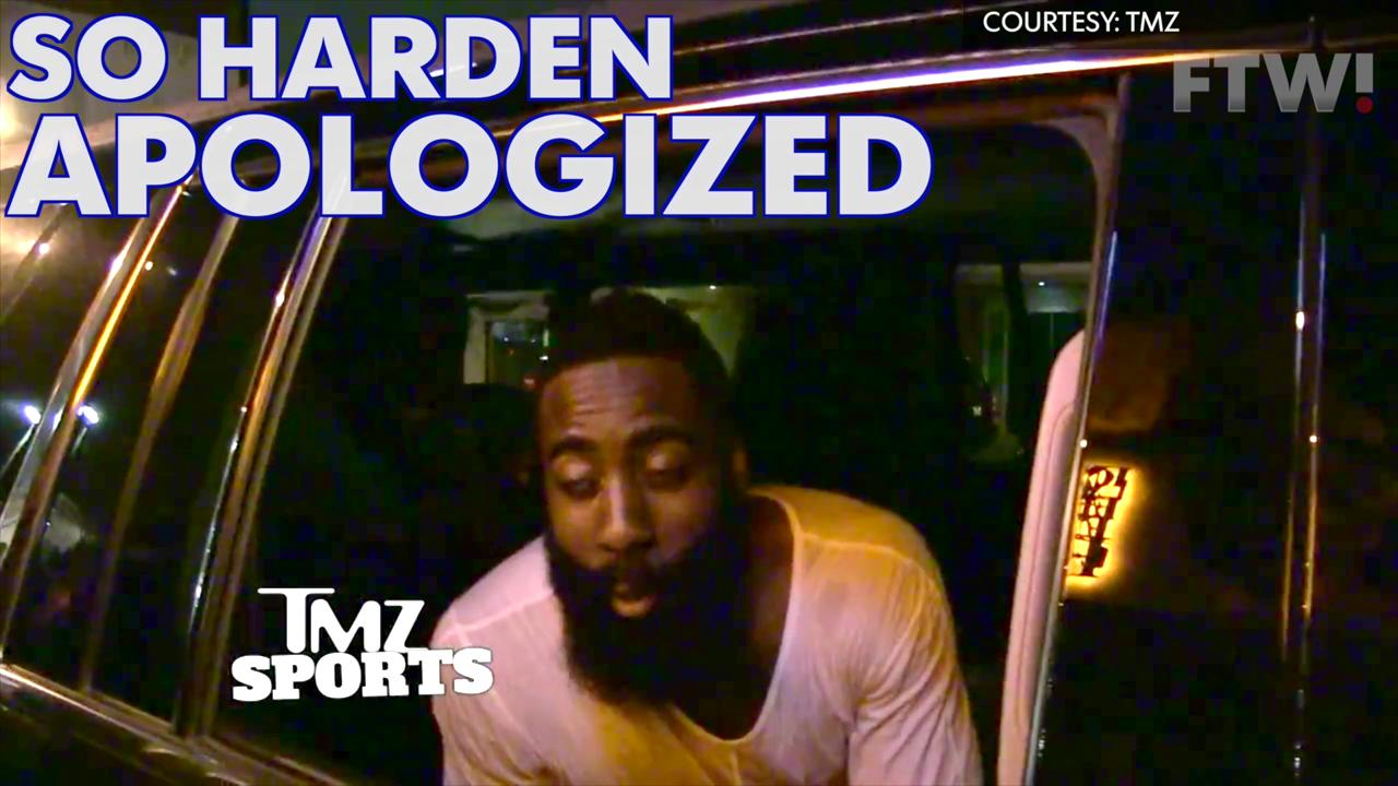 James Harden can't stop rocking Jordans