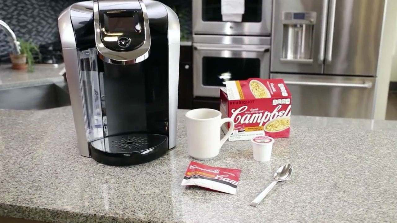 Now you can brew Campbell's soup in a Keurig