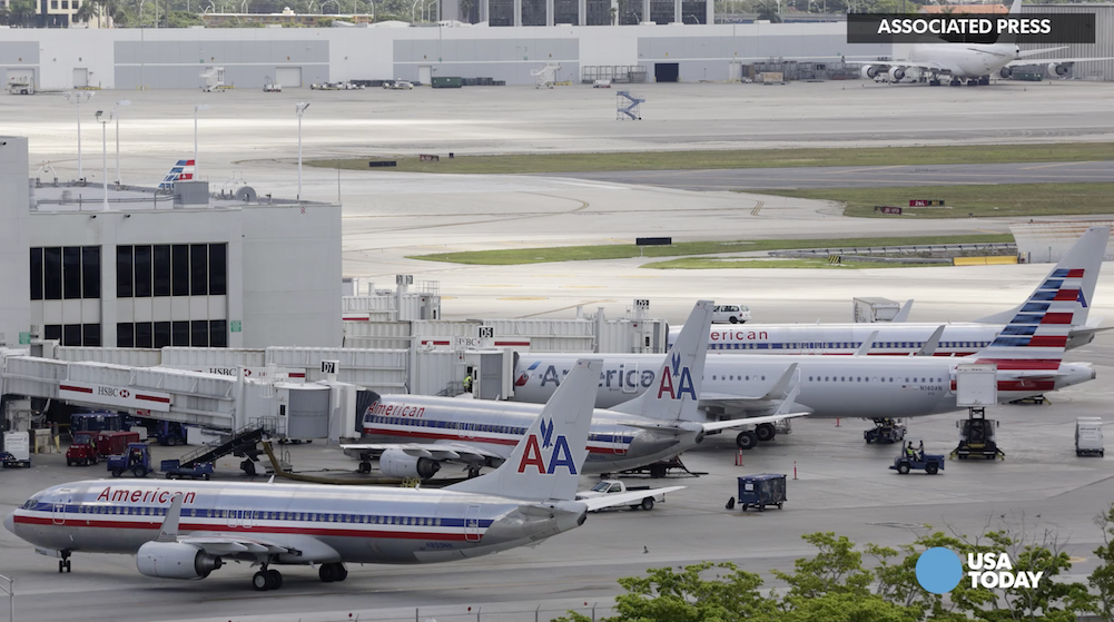 "American Airlines flights grounded due to ""technical issues"""